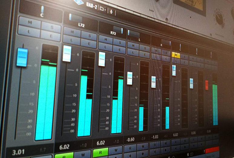 Cubase Pro 9.5 Mix Console